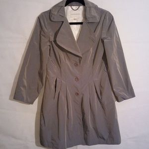 Banana Republic Grey Trench Coat